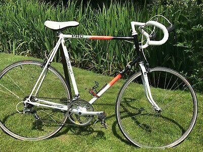 Raleigh Reynolds 501 Vintage Steel Pro Race Retro Mens Road Bike 25 64cm Second Hand Road Bikes